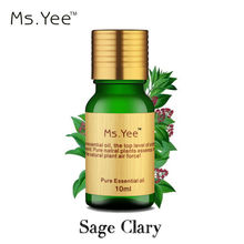 100% Pure Sage Clary Essential Oils Keep Calm Relax Tension Menopause Anti Stress Anti Anxiety & Postpartum Depression 10ml