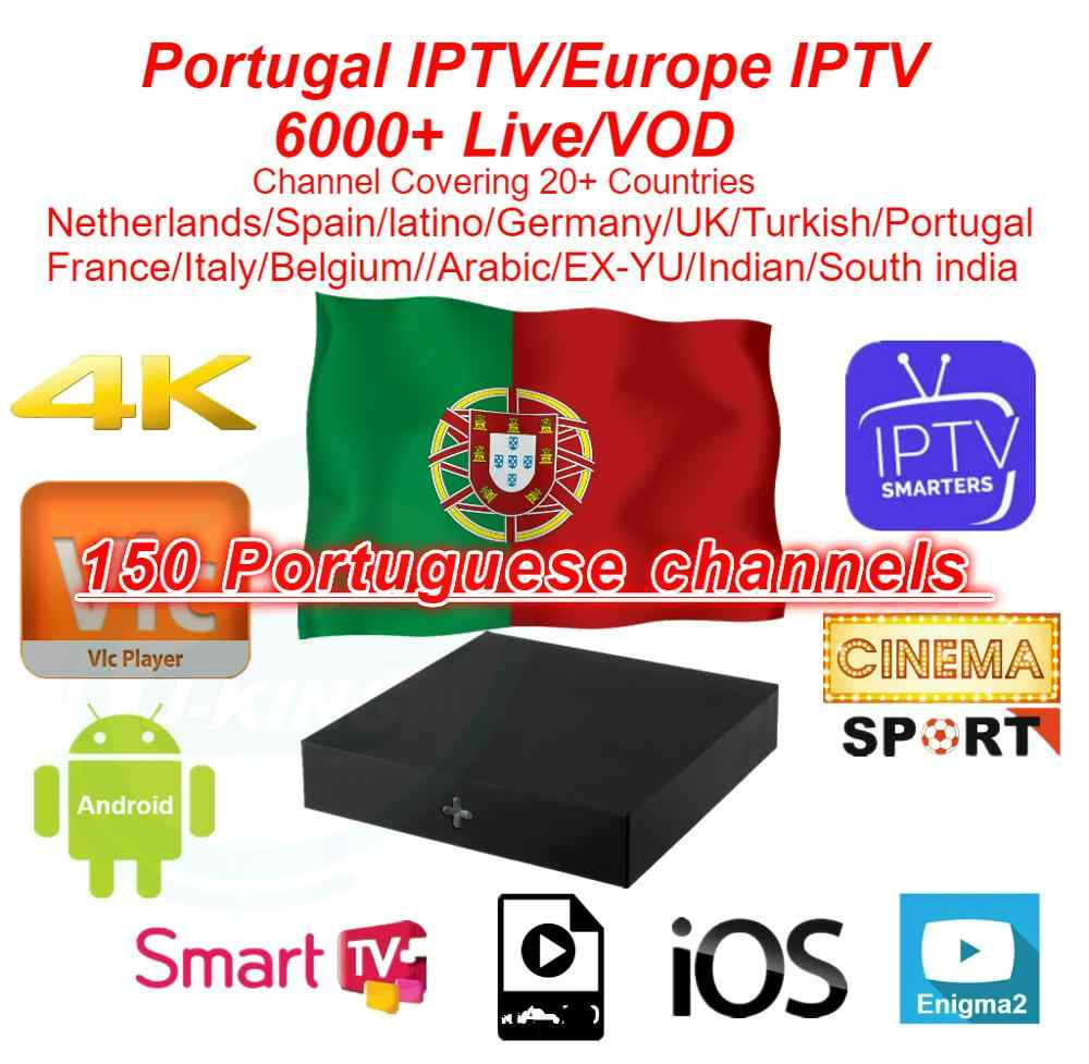 Portugal IPTV/europe IPTV 1 year Subscription For Italy UK Germany French Spanish Belgium Mediaset Premium For M3u Android