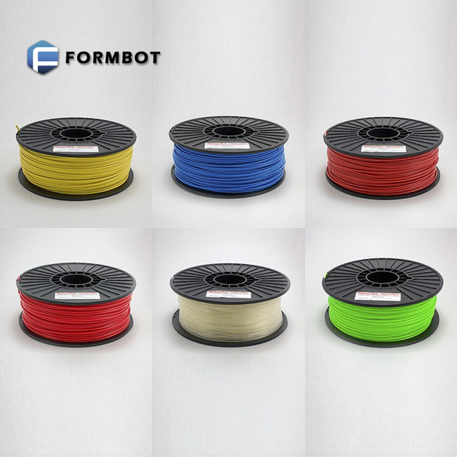 full colors 1.75mm/3mm PLA filament such as silver grey gold brown white black transparent, made in China