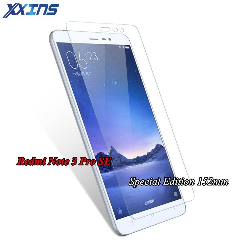 Tempered Glass For mi4C 4S mi5 5S Xiaomi Redmi Note 4X 4A NOTE 3 PRO SE special edition 152mm Official Global Version film case