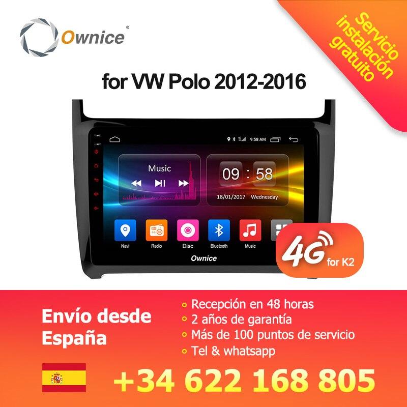 Ownice C500 + G10 Android 8.1 lecteur DVD de voiture pour VW POLO GOLF PASSAT CC JETTA TIGUAN TOURAN Bora Caddy transporter multivan EOS