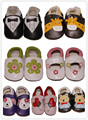 New fashion animal prints patch Genuine Leather fringe  Baby Moccasins baby First Walker  newborn baby shoes free shipping