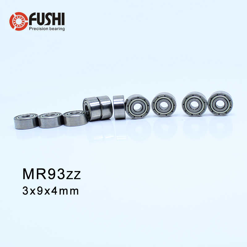 MR93 ZZ ABEC-1 (50 piezas) rodamientos de bolas en miniatura 3X9X4mm MR93ZZ