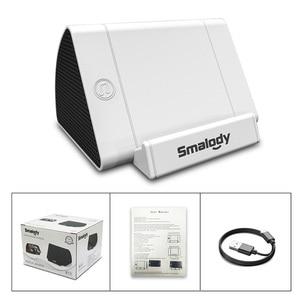 Image 5 - Universal Speaker Mobile Holder For Desktop Phone Stand Desk Induction Phone Holder Support Smartphone Song Playing Bracket