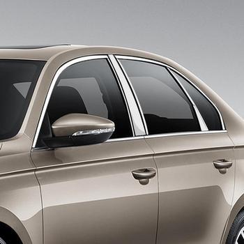 Grille de carrosserie de fenêtre automatique chrome décoratif modifié protection de décoration de voiture 16 17 18 19 pour Volkswagen Bora