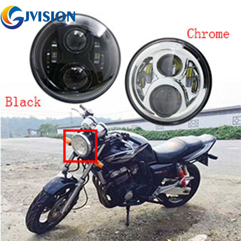 """Nyaste 7 """"tums motorcykel led strålkastare Bike strålkastare för Honda CB400 CB500 CB1300 Hornet 250 600 900 VTECVER250"""