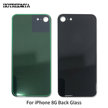 10Pcs/lot Battery Cover Glass Housing For iphone 8G Battery Cover Rear Door Chassis Frame Back Housing Cover Glass With Sticker все цены
