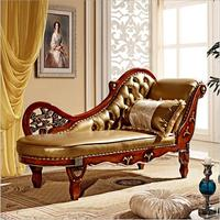 Hot Sale Sofa French Design leather Couches living room furniture Sofa chaise lounge p10268