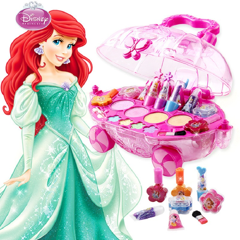 Disney princesse disney kids makeup toys girls toys for kids eye shadow makeup car toys for