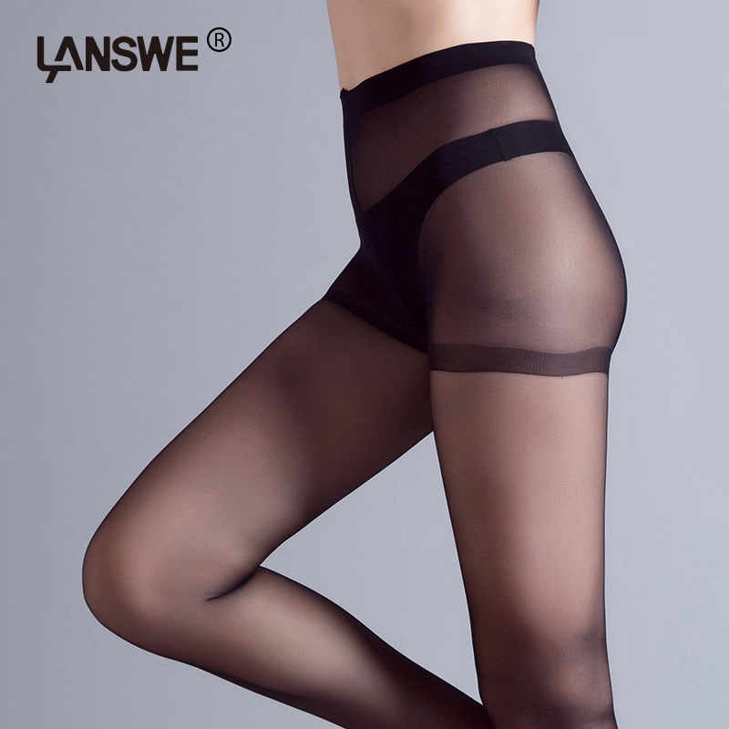 3pcs/lot EU SIZE Women 40D thin Pantyhose Sexy solid color Female tights Lady Slim  Brand Nylon Hosiery Stocking langsha