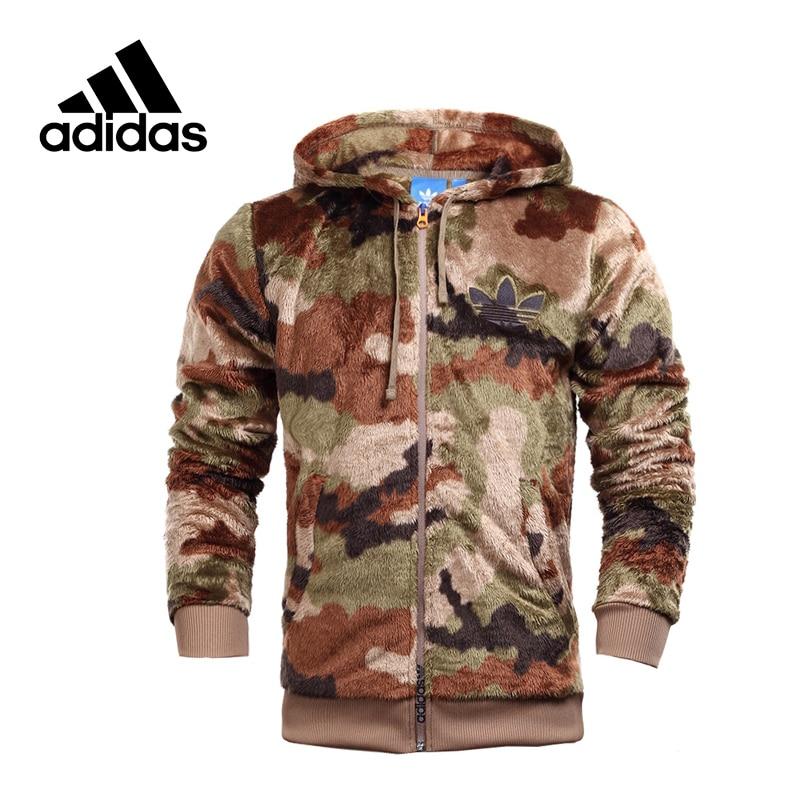 Adidas Original New Arrival Official Originals Men's Warm Jacket Hooded Sportswear AY8621 original new arrival official adidas originals 3striped wb men s jacket hooded sportswear