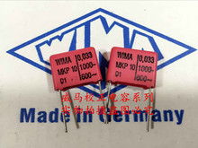 2019 hot sale 10pcs/20pcs Germany WIMA MKP10 1000V 0.033UF 1000V 333 P: 15mm Audio capacitor free shipping 2019 hot sale 10pcs 20pcs germany wima mkp10 1000v 0 0033uf 3300pf 1000v 332 p 10mm audio capacitor free shipping