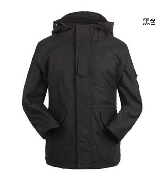 ФОТО military tactical jacket for men G8 hooded windbreaker outdoor twill fleece windbreaker winter jacket BK/CP/DIGITAL green