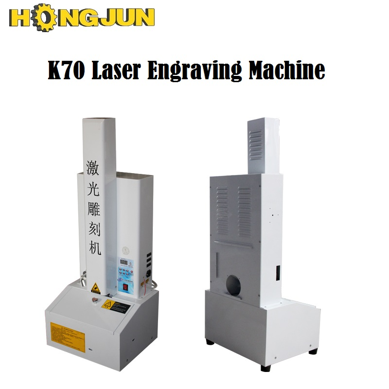 HONGJUN 50w Good Supplier Laser Engraving Machine For Acrylic Glass Cylinder Gucci Belts K70