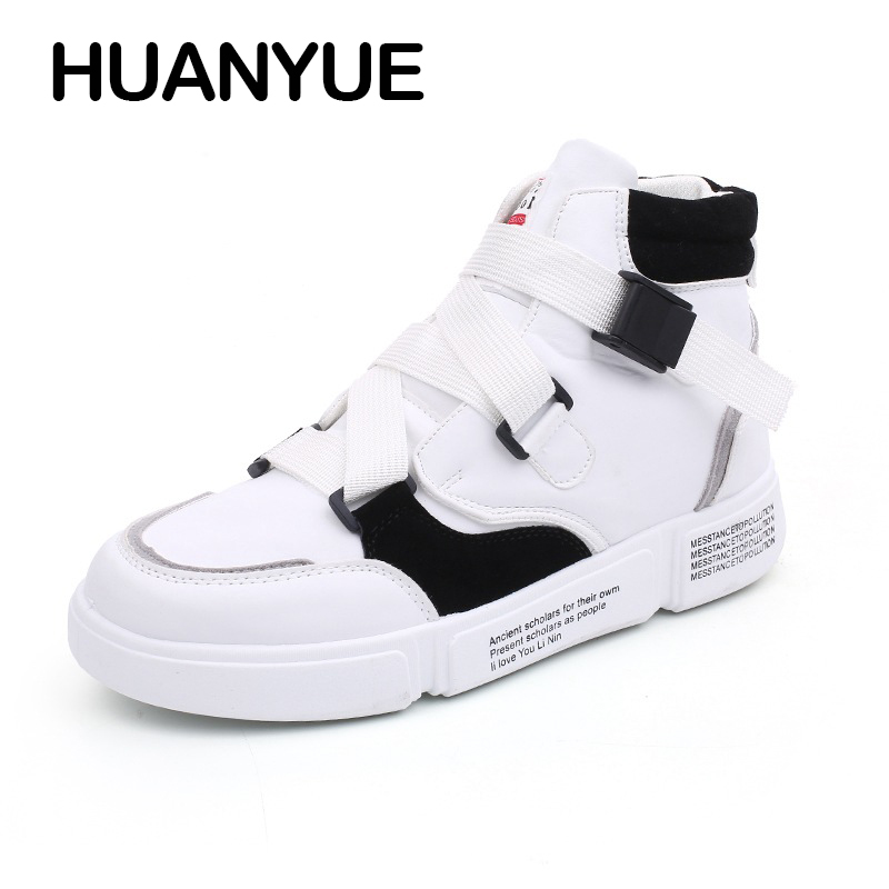 Air Casual red Sneakers Automne Respirant Hommes Hip Red Plein Mode Plat black High Mens 2018 Nouveau Hiver Black En Chaussures Hop Top Pour 8Baawg