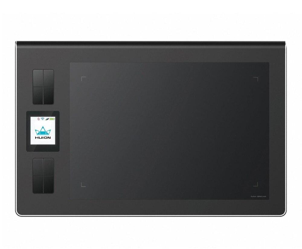 Huion DWH69 9*6 pouces sans fil tablette graphique dessin tablette professionnelle numérique dessin tablette stylo tablette artiste gant