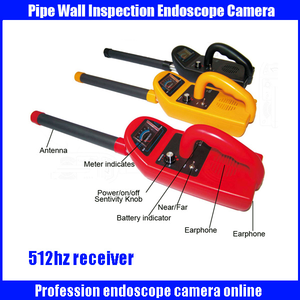 FM 512HZ High quality of depth sonde &receiver for pipr locator Factory supply 512Hz locator for underground pipe inspection tp760 765 hz d7 0 1221a