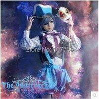 Black Butler Book of Circus Ciel Phantomhive Cos Anime Cosplay Costume Uniform Clothing Unisex