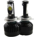 Ship from USA Car Headlight LED Cree Chip H4 Hi Lo Beam 36W 6000K 3600lm High Quality Car Headlights Super Bright LED H4