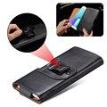 Retro belt clip case para samsung galaxy note 5 s6 s7 s8 borda wallet flip case para iphone 7 6 plus telefone coldre universal cobrir