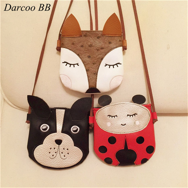 Diy Animal Shape Baby Toys Bag Fox Dog Handmade Patch Children Mini Bags Kids Toy