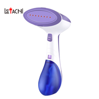 LSTACHi 1400W Household Mini Garment Steamer Portable Handheld Steam Iron Travel Fabric Clothes Heat Tool For Home Traveling