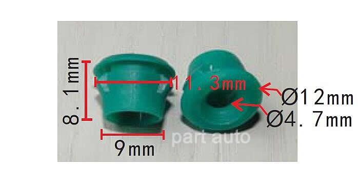 20 Set Grommets Rocker Panel Mouldings Clips For BMW E30 E32 E36 E46 E60 E61 E63