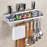 Storage rack Tool holder Kitchen utensil rack Liquid glue With guardrail Multifunction home organization and storage ShinTong