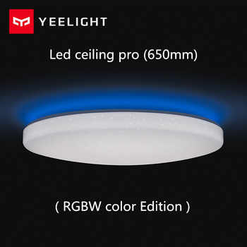 Xiaomi Yeelight Led ceiling Pro 650mm RGB 50W work to mi home app and google home and For amazon Echo For xiaomi smart home kits - DISCOUNT ITEM  52% OFF All Category