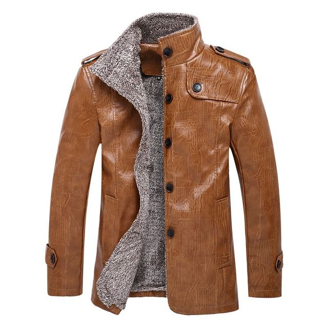 a1afecefc New arrive Europe Size large size Leather Jacket men Brand Male ...
