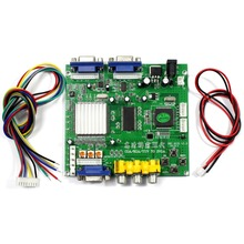 Oyun Video dönüştürücü CGA, EGA YUV VGA sinyal 2VGA çıkış GBS8220