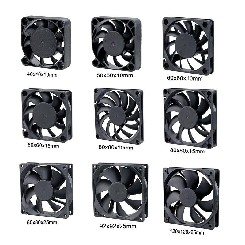 2 Pcs Lot Gdstime 5V USB Connector 80mm X 10mm 40mm 50mm 60mm 80mm 90mm 120mm 140mm PC Fan Cooler Heatsink Exhaust