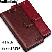 for Samsung Galaxy Xcover 4 G390F Case Wallet Leather Phone Case for Samsung Xcover 4 Flip Cover Stand Wallet Bag