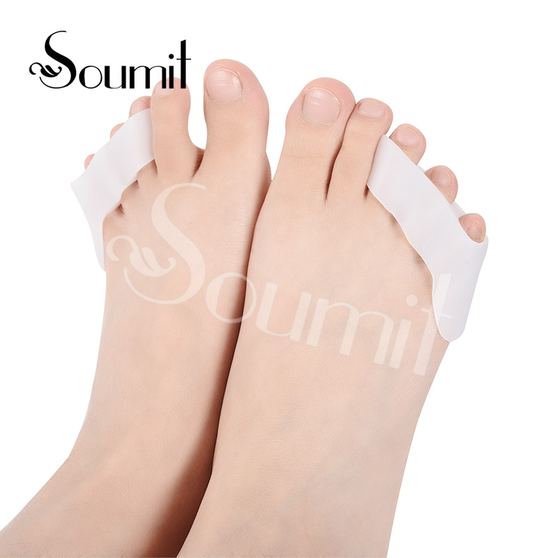 Soumit Silicone Gel Toe Separator Insoles for Women High Heels Side Pain Relief Orthopedics Protector Shoe Sole PlantillasSoumit Silicone Gel Toe Separator Insoles for Women High Heels Side Pain Relief Orthopedics Protector Shoe Sole Plantillas