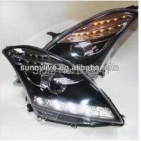 SWIFT LED Head Lamp Angel Eyes For SUZUKI 2012 2014 Year