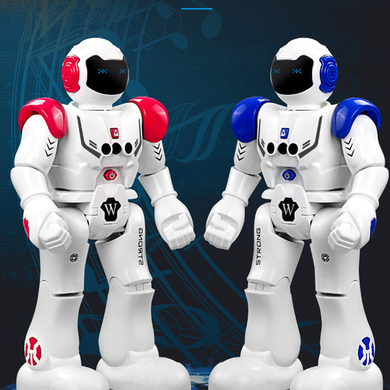 Robot USB Charging Dancing Gesture Action Figure Control RC Robot Toy for Boys Children Kids Birthday Gift Present