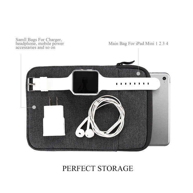 Tablet Shockproof Sleeve Pouch Bag Case for Apple iPad