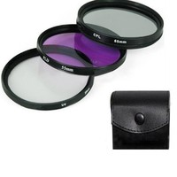 55mm UV Filter Professional Lens Filter Accessories Kit UV Mirror FLD Mirror Professional Universal Camera Lens Hood