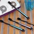2 unids/lote cepillo de dientes de carbón de bambú nano cepillo de dientes suave cuidado de los dientes oral higiene limpio cabezas negras