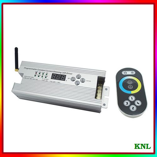 Led wireless constant current programmable dimming driver, multifunction LED lighting controller, AC85V-264V, free shipping