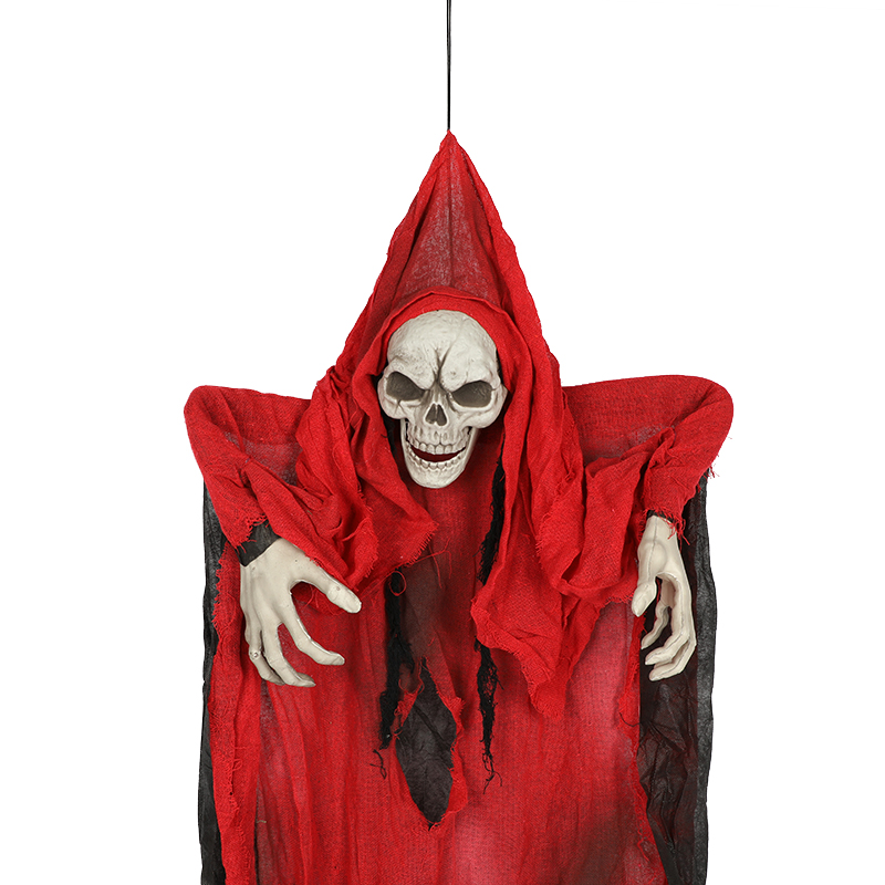 HTB1yCYqXdzvK1RkSnfoq6zMwVXaj - 165cm Halloween Hanging Ghost Haunted House Escape Horror Halloween Decorations Terror Scary Props Theme Party Drop Ornament 1pc
