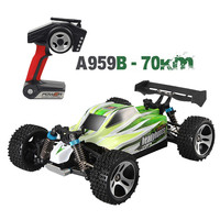 1:18 4D 2,4G RC автомобиль 70 км/ч Дистанционное Управление гоночный 540 щеточный мотор высокой Скорость внедорожные транспортные средства для дете