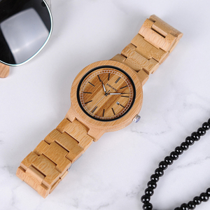Image 4 - BOBO BIRD LP23 Drop Shipping Designer Bamboo Wooden Watches Men with Stainless Steel Clasp Quartz Relogio in Box