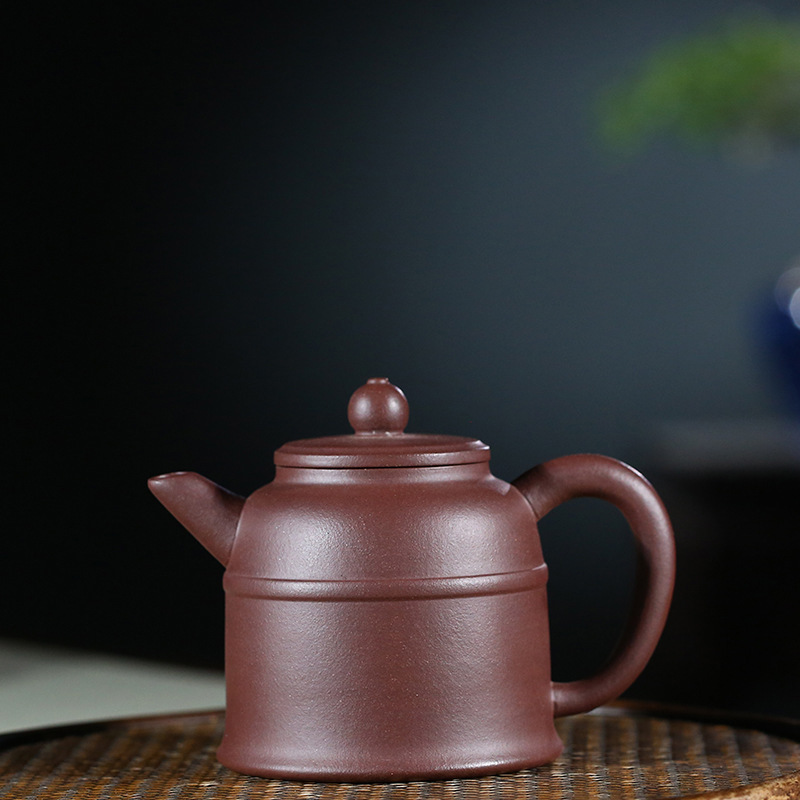 Yixing recommended authentic handmade undressed ore admiralty purple clay pot of kung fu tea set the teapotYixing recommended authentic handmade undressed ore admiralty purple clay pot of kung fu tea set the teapot