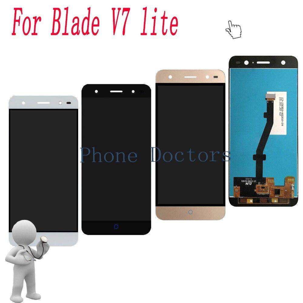 5,0 pulgadas para ZTE Blade V6 Plus pantalla LCD completa + reemplazo de la Asamblea del digitizador de la pantalla táctil para la lámina V7 lite
