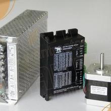 1 Ось NEMA17 42BYGHW811 0.48n.m/70oz-in 48 мм 2.5a3.1v 48 мм для 3d принтер, ЧПУ, мини-двигатель шаг, робота+ драйвера dq542m+ Мощность