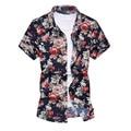 Camisas de los hombres camisa hawaiana de moda de verano para hombre de manga corta camisa camisas de playa flores impresas menswear brand clothing mcs015