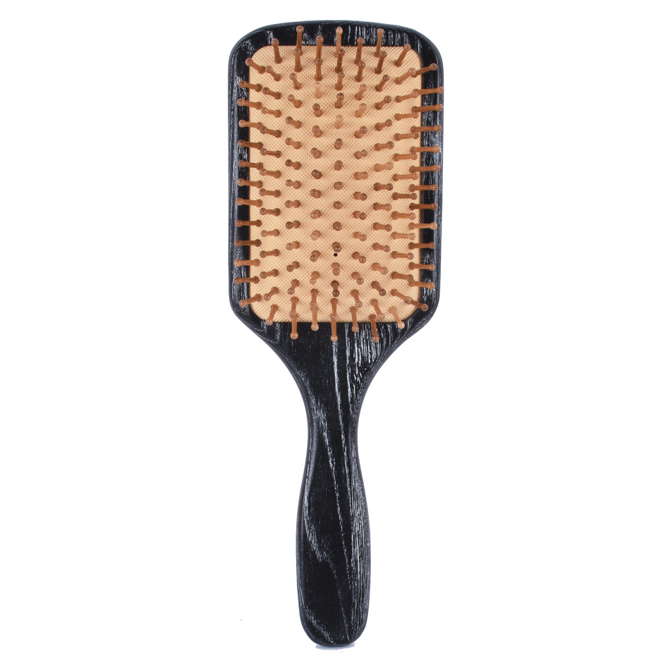 Hot sale Japan Mahogany massage airbag wood Needle comb HairBrush Comb Antistatic Detangling wooden combs brushes