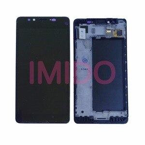 Image 1 - עבור Nokia Lumia 950 RM 1104 RM 1118 LCD תצוגה + מסך מגע Digitizer עצרת + מסגרת החלפת חלקים