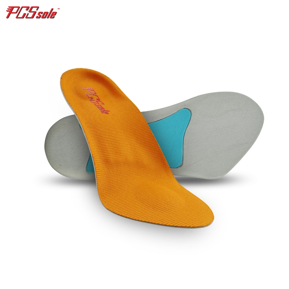PCSsole 3/4 length insoles for flat feet arch support orthopedic inserts for Plantar Fasciitis Heel Spurs Bunions Pronation 669 ...